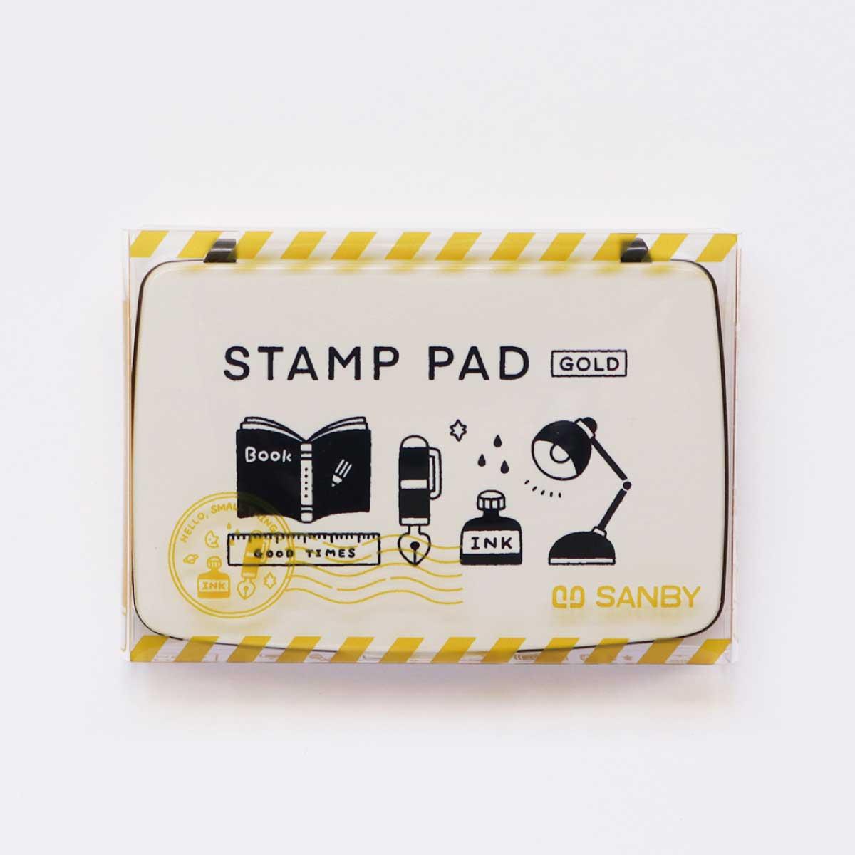 コラボ STAMP PAD [eric] (ゴールド)