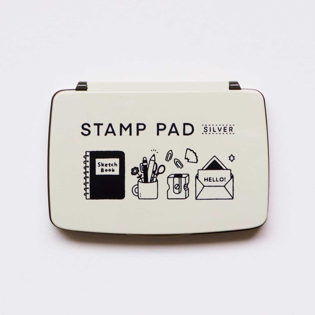 コラボ STAMP PAD [eric] (シルバー)